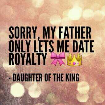 Daughter of the King :-)