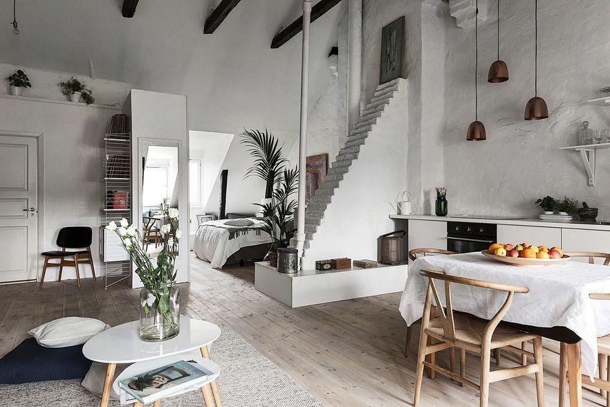 Attic Apartment Loft Apartment Decorating Rooms Home Decor Apartment Decor
