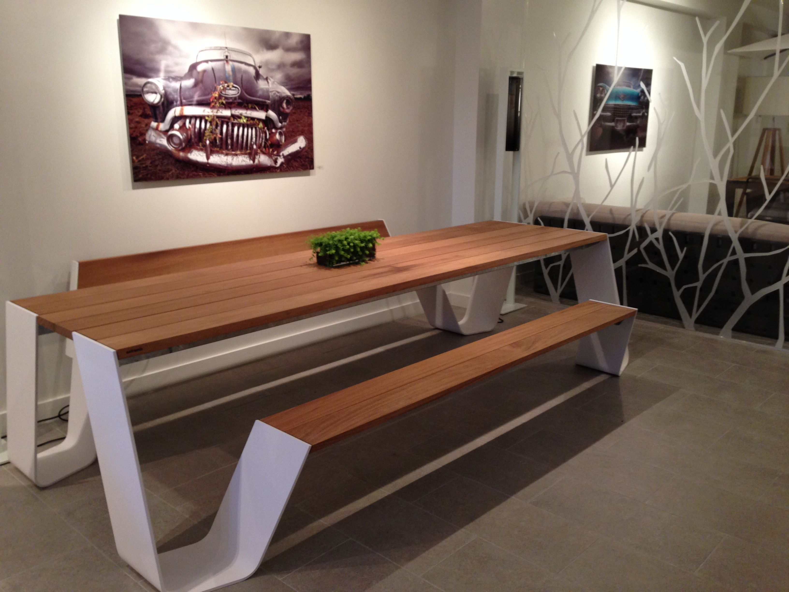 Hopper Table By #Extremis   #outdoor Furniture Company From Belgium In Casa  Outdoor Showroom