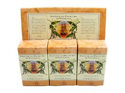 Vaniglia (Vanilla) Perfumed Soap Bar Collection by LErbolario Lodi (3 - 3.5 Ounce Soap Bars)