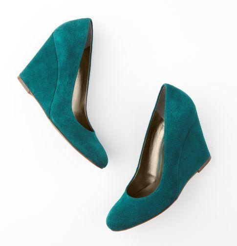 Otros zapatos verdes.