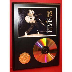 Gold Award for the CD - Elvis '75.
