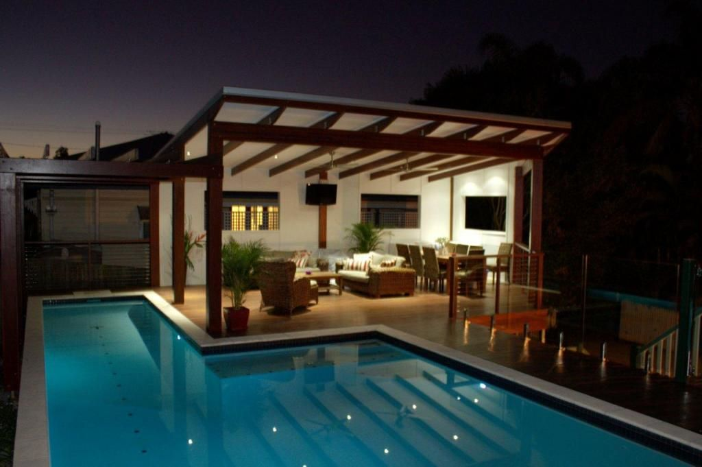 new timber deck covered gazebo swimming pool holland park brisbane galleries