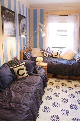 Three Brilliant Dorm Rooms