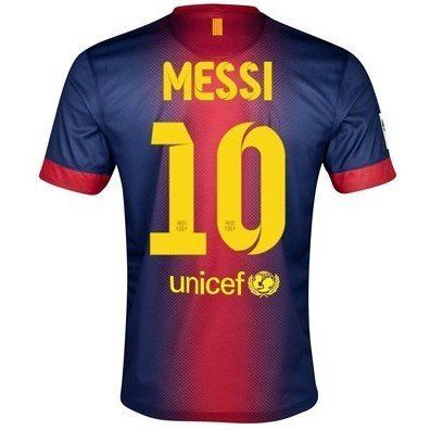f97d1c5289 Nike  10 Messi Barcelona Home 12 13 Soccer Jersey (US Size  S) by Nike.   41.51. STAY COOL. CONSIDERED DESIGN. DRI-FIT. This item is 2012-13  Barcelona Home ...