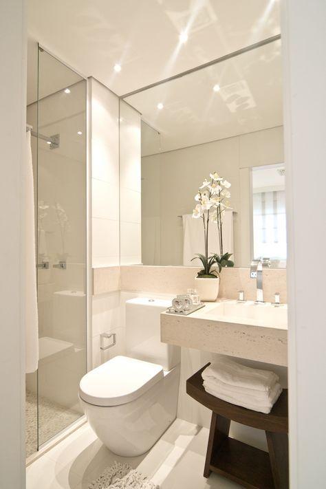 Saca el máximo partido a tu baño pequeño Bathroom Pinterest - Sanitarios Pequeos