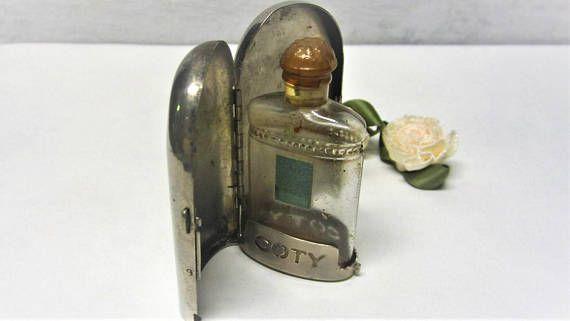 Vintage Coty Perfume Bottle Atomizer