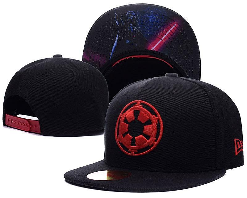 promo code d13cc 448f7 Mens STAR WARS New Era 9fifty The Empire Symbol Logo Star Wars Movie Under  Visor Snapback Cap - Black   Red