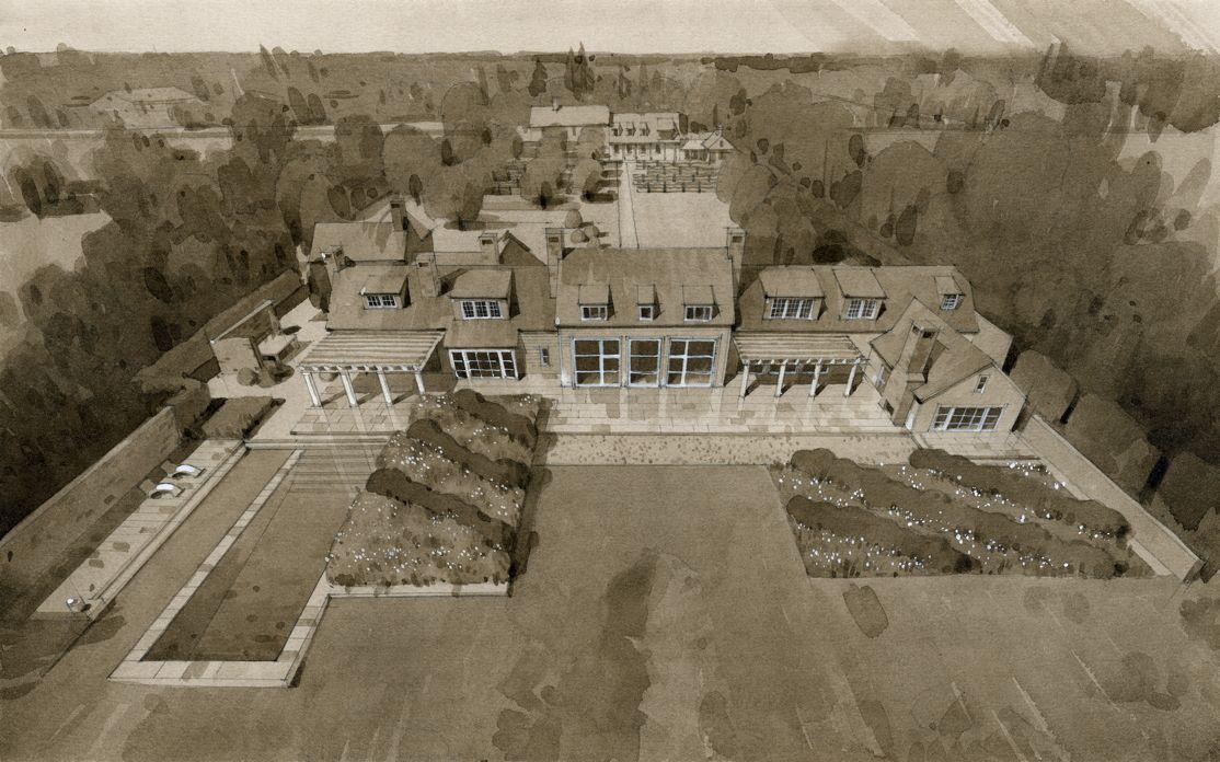 east hampshire usa arne maynard garden design