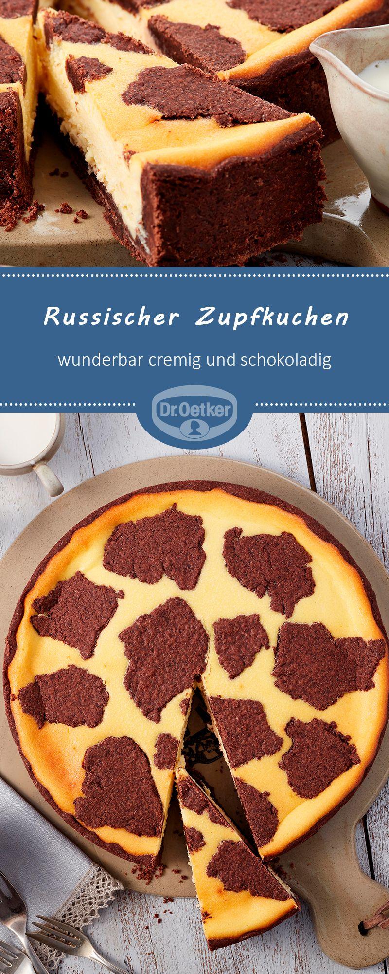 Russischer Zupfkuchen: Ein klassischer und beliebter Käsekuchen #lecker #selberbacken #kaffeetafel #cakefrosting
