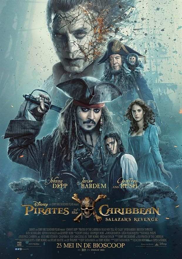Pirates Of The Caribbean Salazars Revenge Poster Watch Free Latest Movies Online On Moive365 To