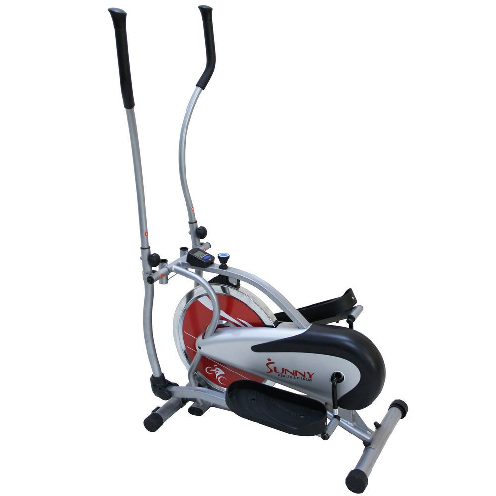 elliptical bike trainer indoor exercise bicycle cardio workout cross