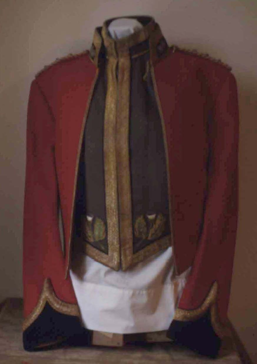 Royal Scots Greys  Officer's Mess Dress Uniform, c  1958