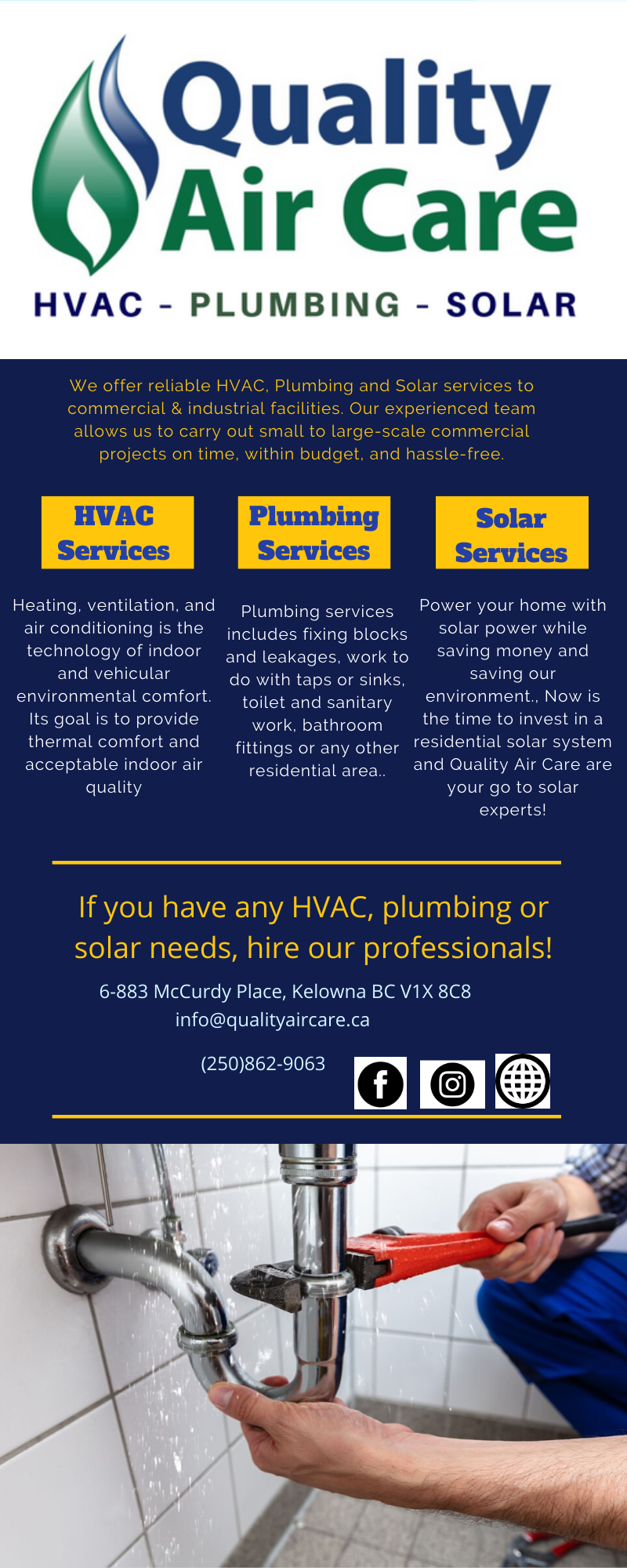 We Are The Trusted Hvac Plumbing And Heating Company In Kelowna