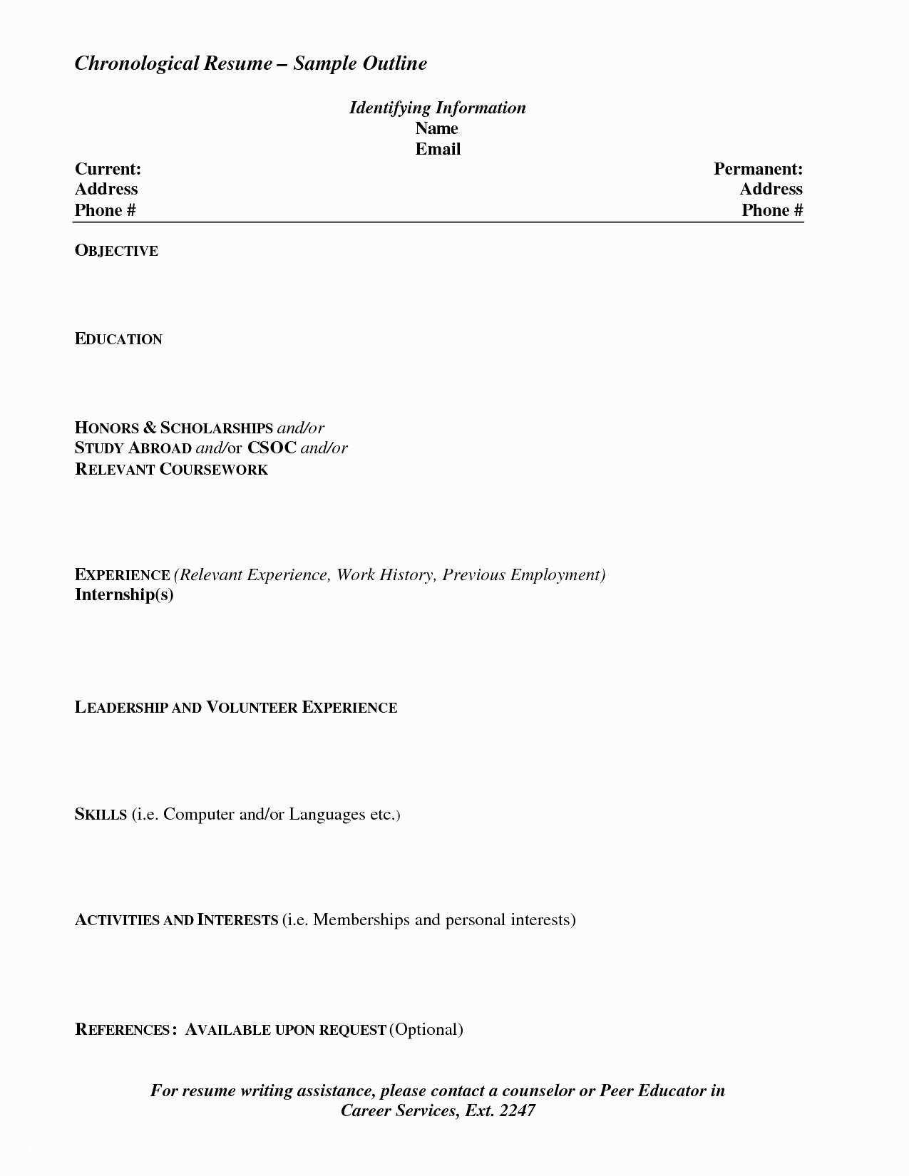 Speech Pathology Personal Statement Examples Job Resume Resume Writing Chronological Resume
