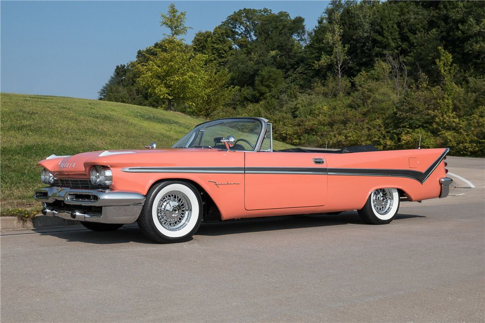 1959 DESOTO FIREDOME CONVERTIBLE – Barrett-Jackson Auction Company – World's Greatest Collector Car Auctions