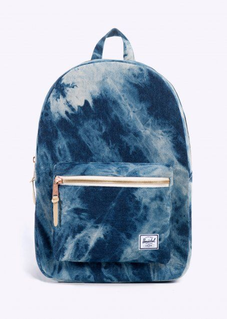 6446c2469ee AW14 Herschel Settlement Backpack, Herschel Backpack, Denim Backpack,  Backpack Bags, Fashion Backpack