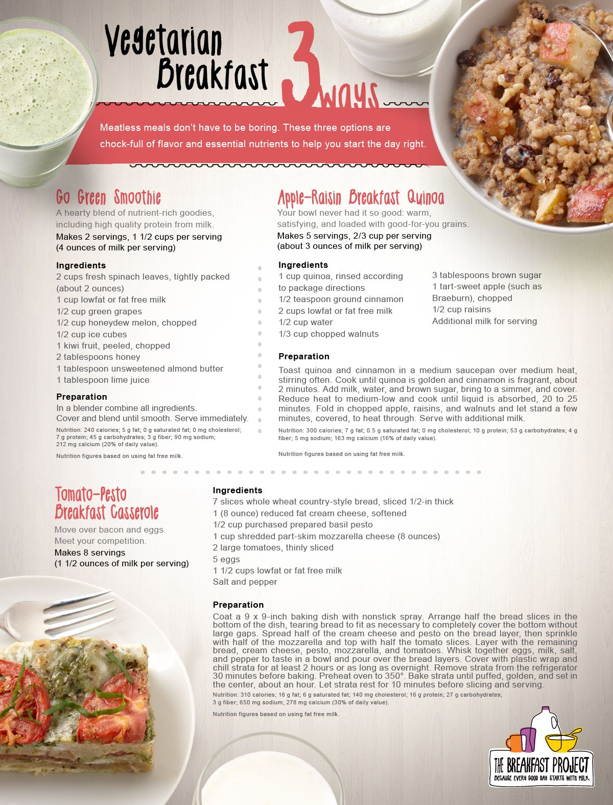 It S Vegetarian Month We Ve Got 3 Vegified Breakfast Recipes To Celebrate Which One Will You Wan Vegetarian Breakfast Recipes Vegetarian Vegetarian Breakfast