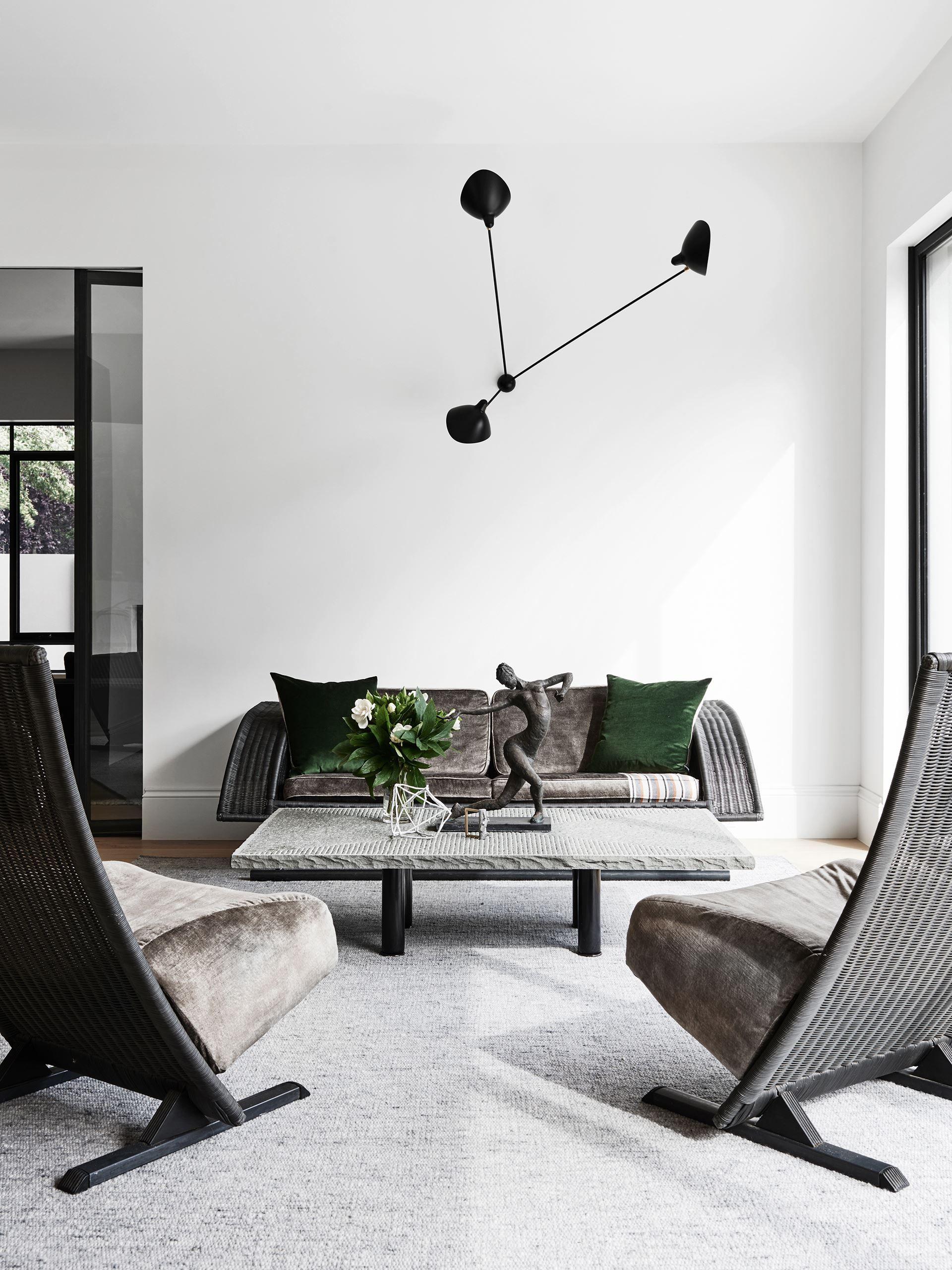 Gaudy 80s Home Gets Modern Renovation | European furniture, Wicker ...