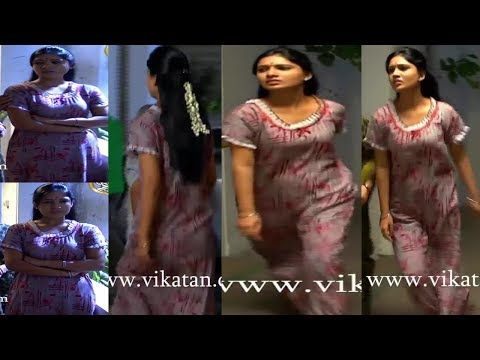 Tube tamil sun tv serial deiva magal gayathri sexy back
