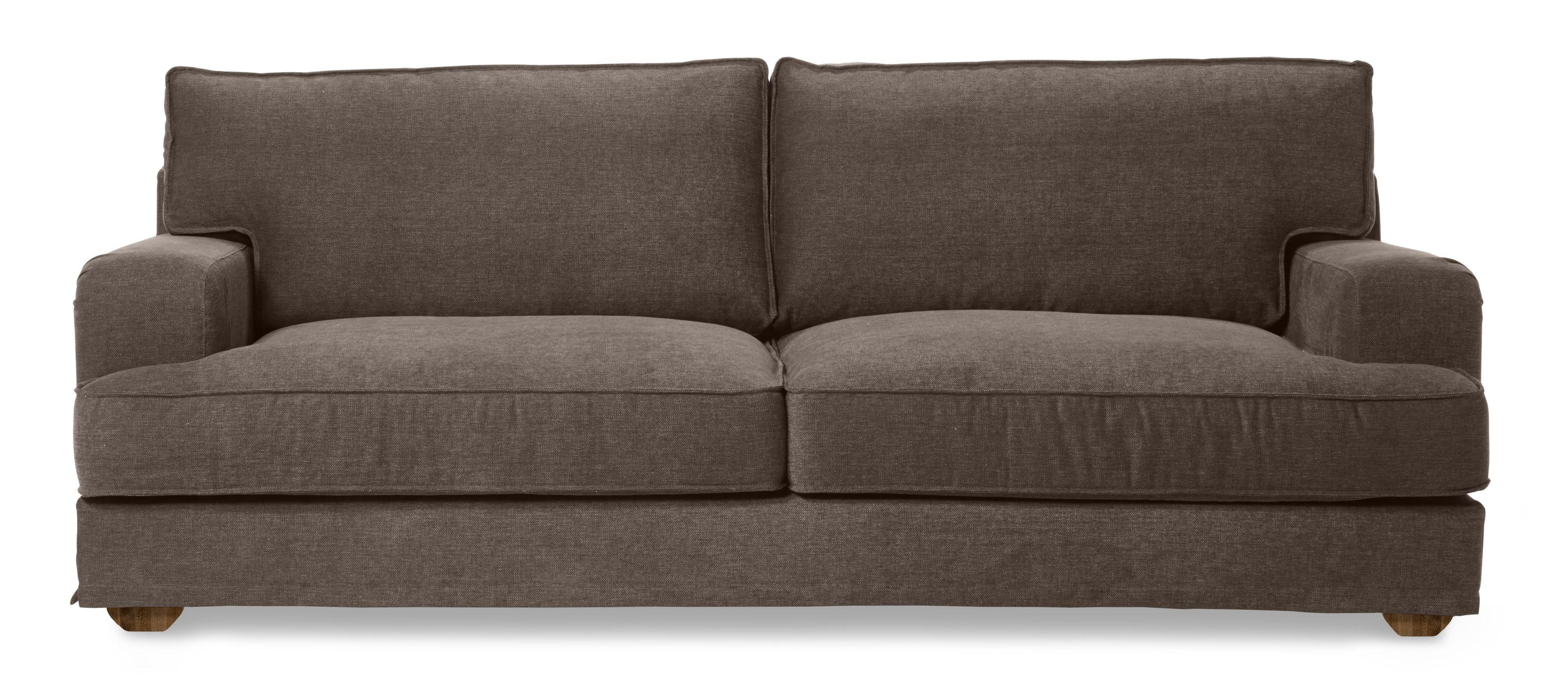 Lopez är en generös soffa i modern howard stil Den har en