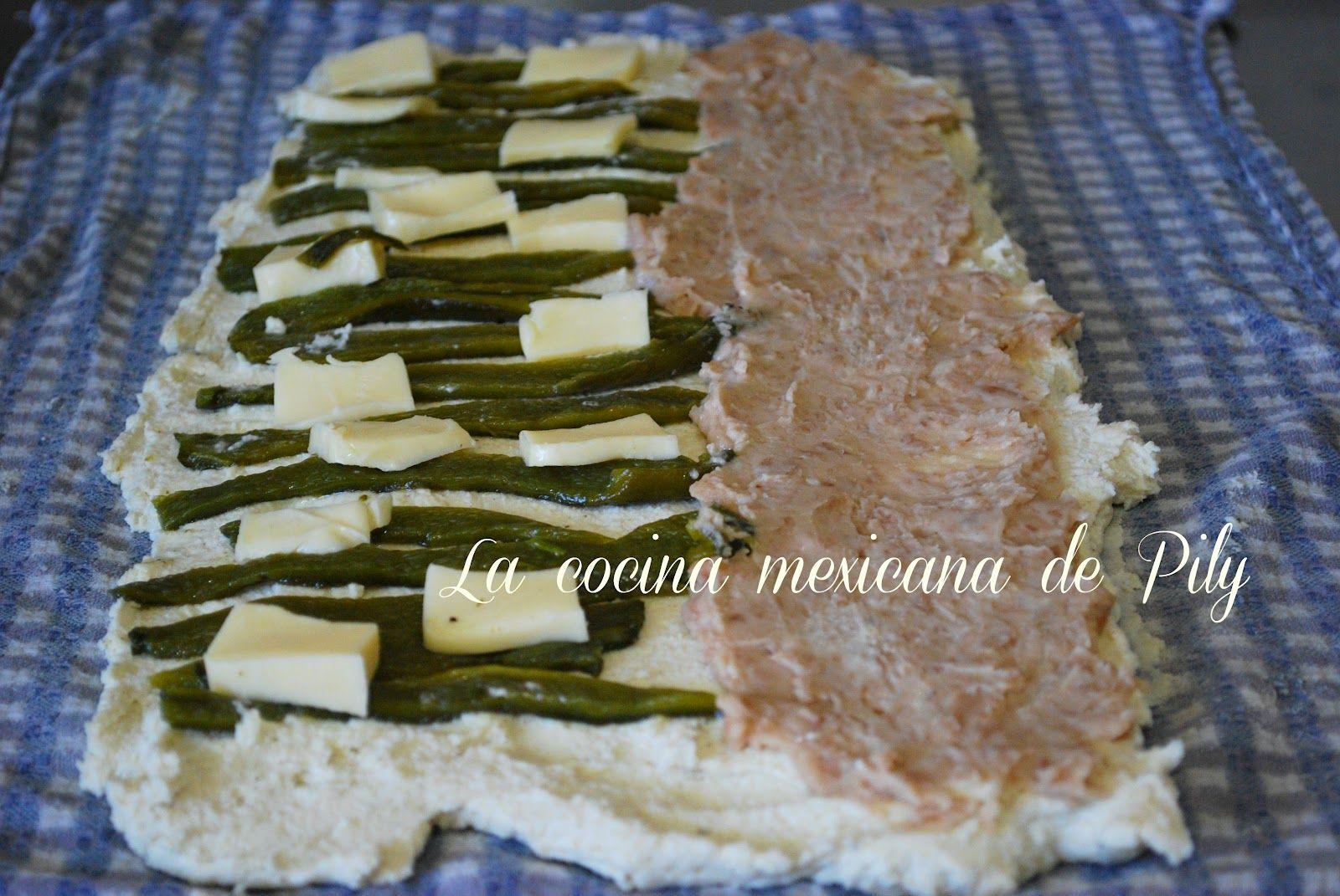 La cocina mexicana de Pily: Exquisito rollo de tamal y ¡Última semana!