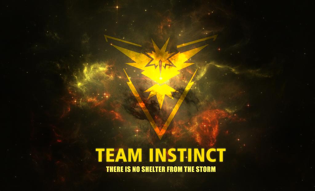 Team Instinct Wallpaper By Firextremeid Deviantart Com On Deviantart Team Instinct Wallpaper Instinct