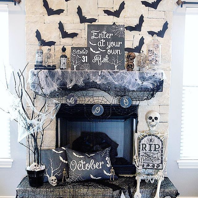 More Shabby Chic Halloween Interior Decor Ideas: Currently Setting Up For An Adult Halloween Party Shoot