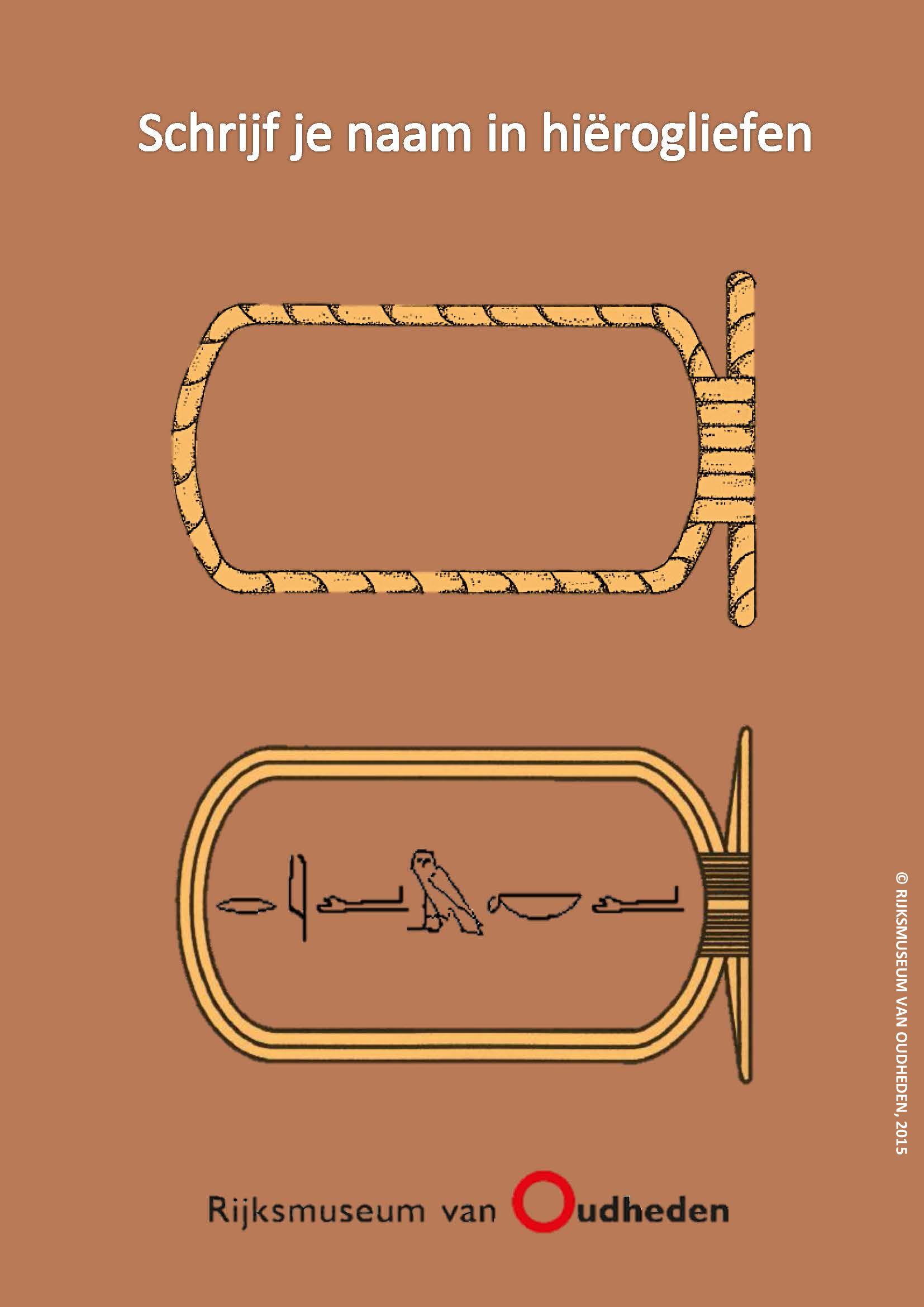 Schrijf Je Naam In Hierogliefen Net Als In Het Oude