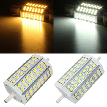 R7s 10w 42 Smd 5050 Non Dimmable Bright Led Bulb Flood Light Halogen Lamp Replacement Ac 85 265v Halogen Lamp Flood Lights Led Bulb