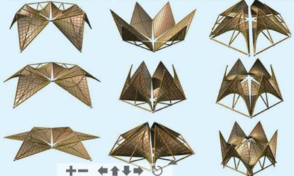 bamboo tensile structures - photo #39