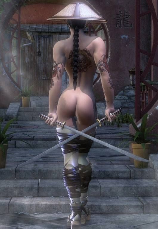 Amusing phrase naked asian women warriors with swords amusing