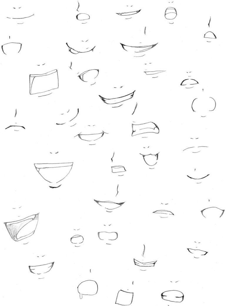 Learn To Draw Comics Anime Mouth Drawing Manga Mouth Mouth Drawing