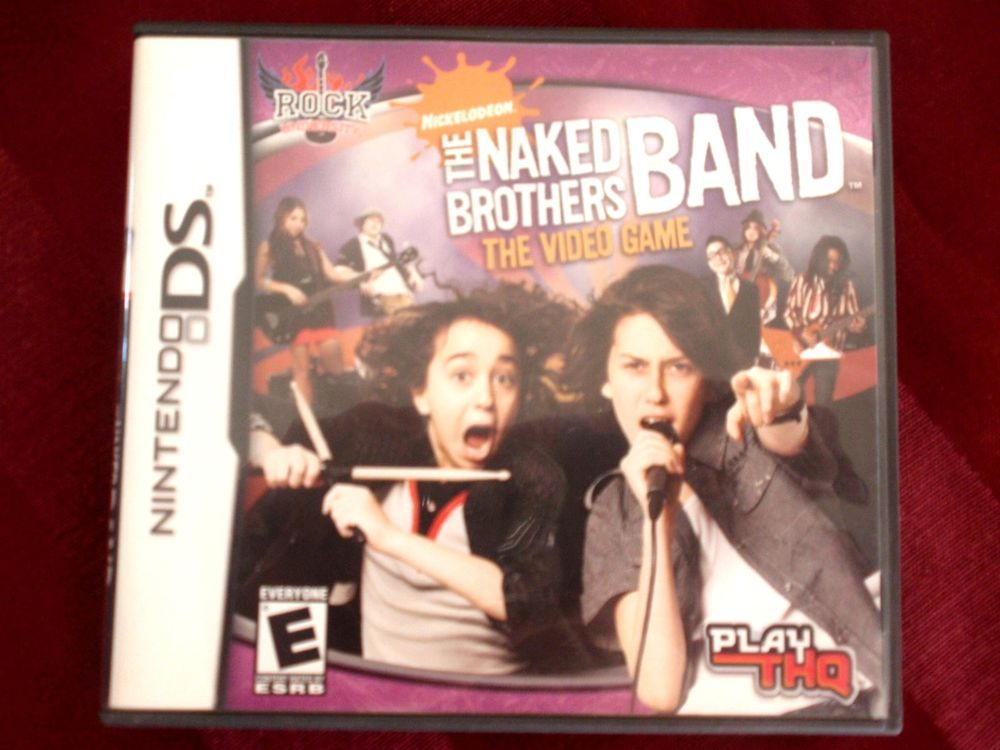 Naked Brothers Band The Video Game for Nintendo DS Brand