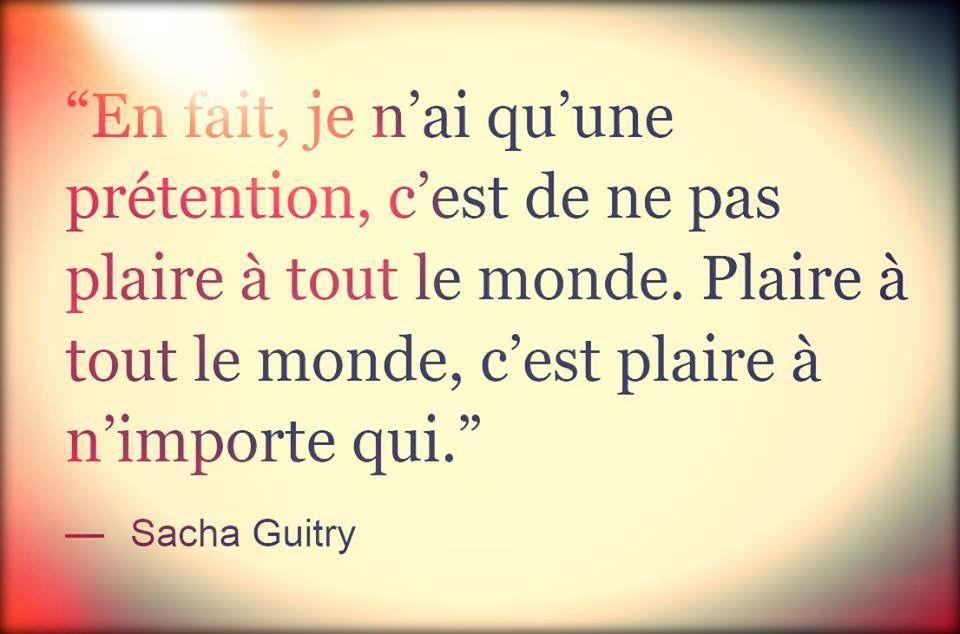 Citation De Sacha Guitry Citations Sacha Guitry Citation Sacha Guitry
