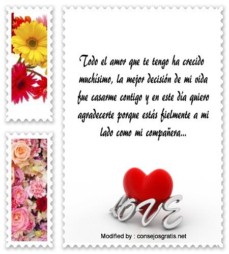 Promesa De Matrimonio Catolico : Textos bonitos de amor para enviar a mi esposa por