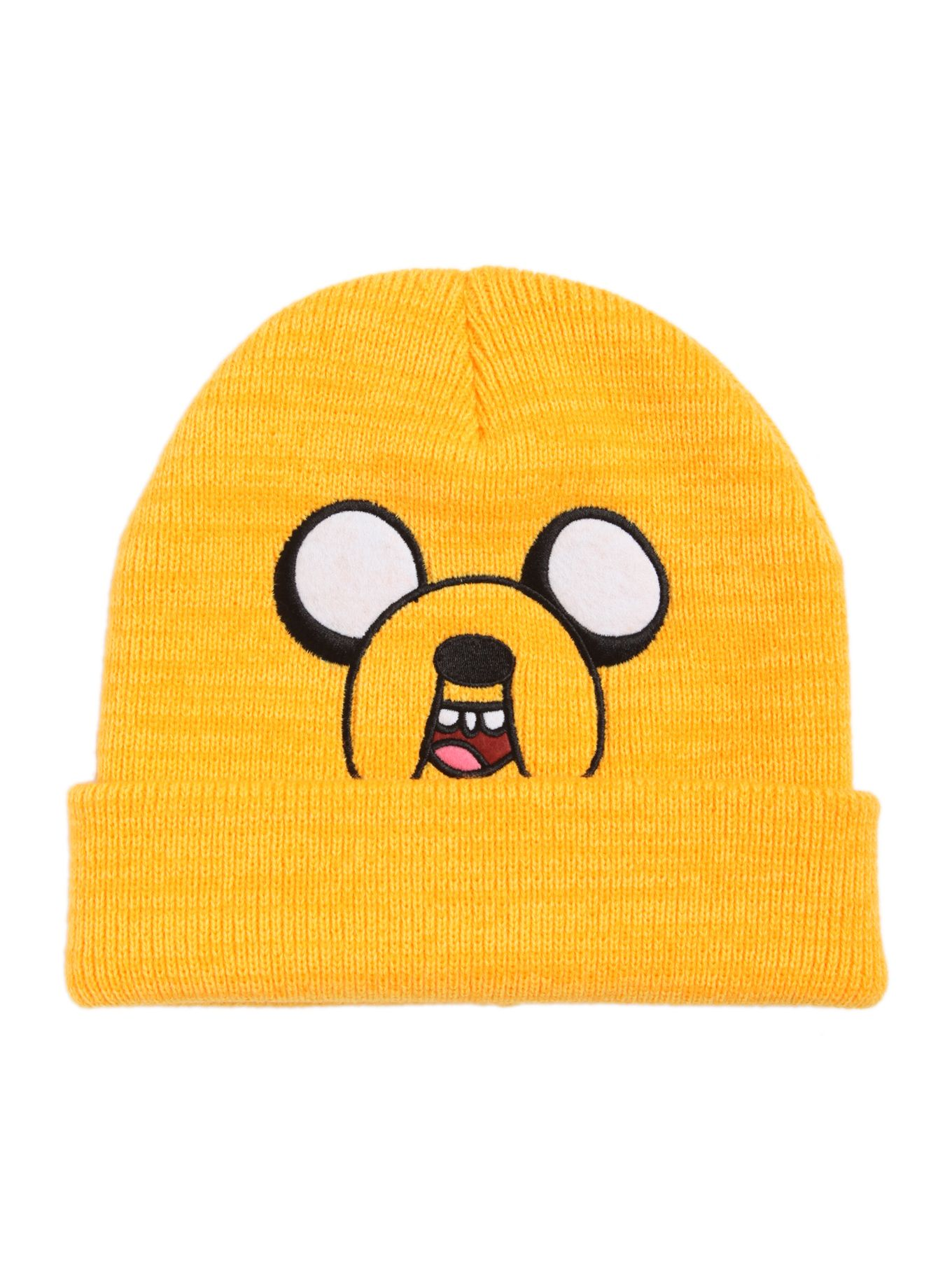 e5c2959bc6c Adventure Time Jake Watchman Beanie - Hot Topic