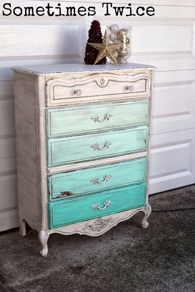 Diy dressers ombre dresser simple diy dresser ideas easy diy dressers ombre dresser simple diy dresser ideas easy dresser upgrades and makeovers to create cool bedroom decor on a budget do it yours solutioingenieria Gallery