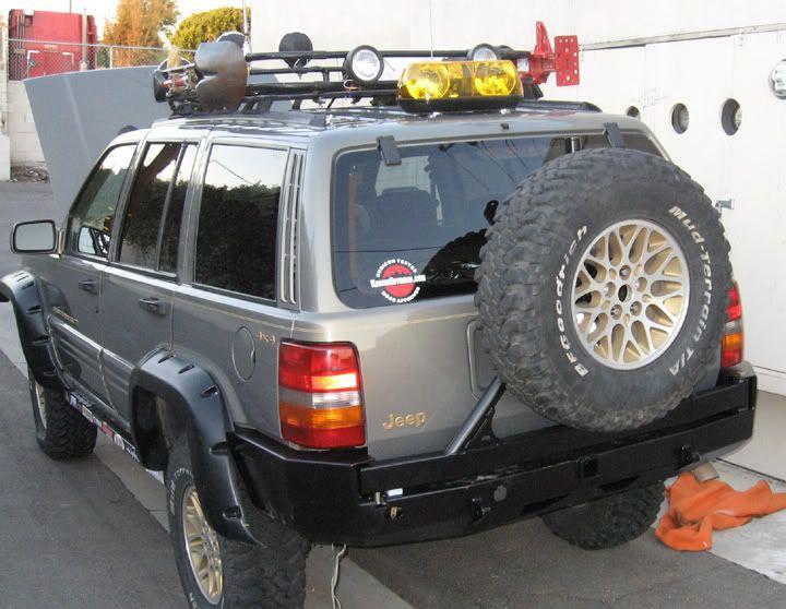 Bumper Re 05 Jeep Grand Cherokee Zj Jeep Zj Jeep Wj