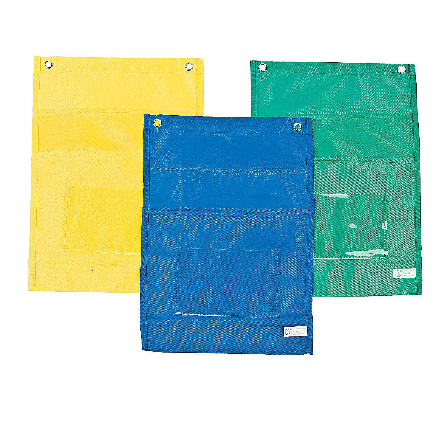 Carson-Dellosa Center Organizers - OrientalTrading.com  Thinking about these to keep homework folders handy by the door.
