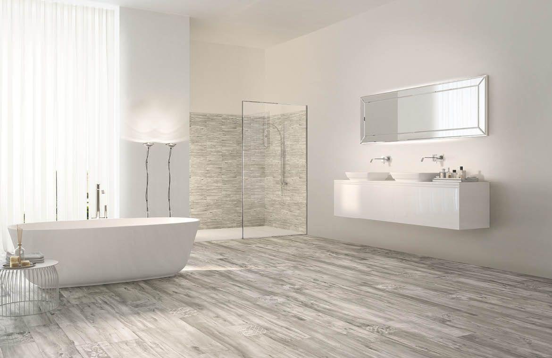 wood look white ceramic tile - Google Search emilceramica millelegni ...