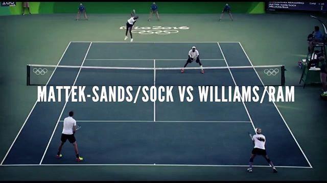 Trilling Rally And Match Point For Sock I Matteksands Etennisleague Etennisleaguenation Tennis Videos Mattek Sands Tennis Match
