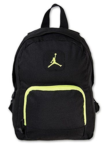 badd7f68364e Nike Air Jordan Backpack Black Green Toddler Preschool Boy Girl Small Mini  Bag  Nike  Jordan  Basketball  Backpack  OrlandoTrend