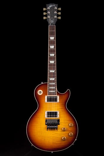 Guitar Center: Platinum : Gibson Custom Alex Lifeson Les Paul Axcess Viceroy Brown