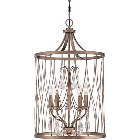 Rejuvenate a curb appeal and increase the value of your home by choosing this west liberty five light olympus gold pendant from minka lavery