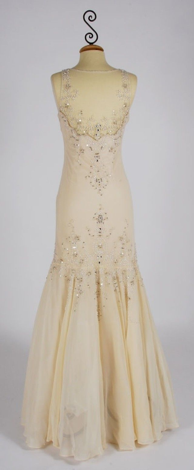 Not sewing and stitching really, just gorgeous vintage dress ...