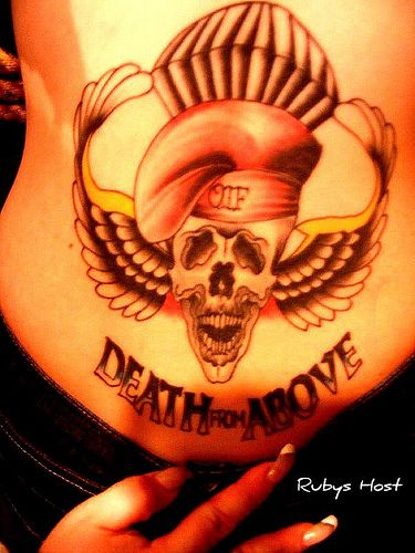 Special Forces Skull Tattoo | Special Forces Tattoos ...