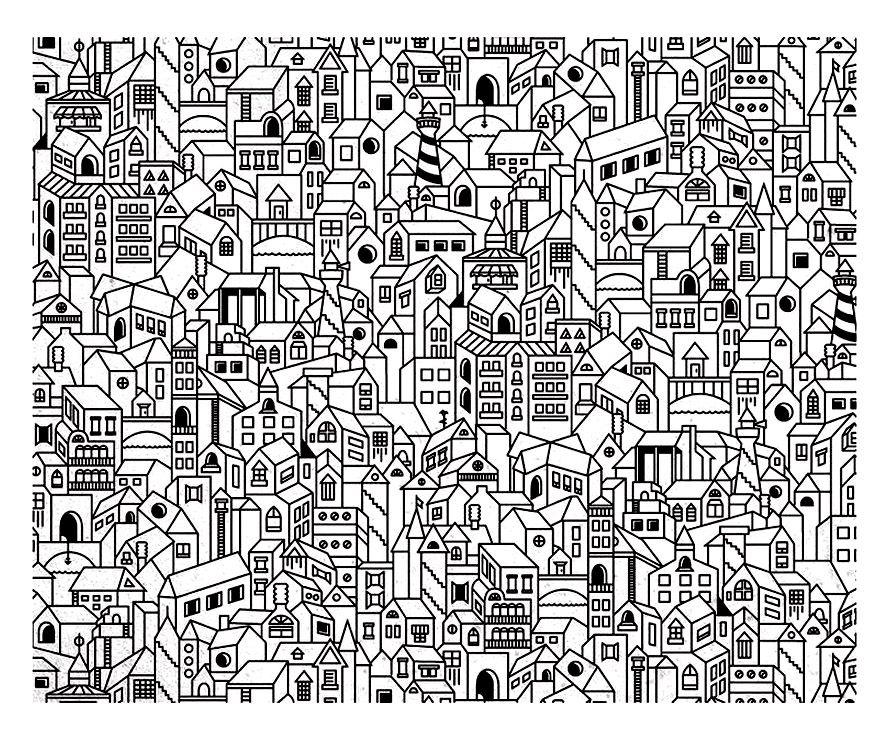 Galerie de coloriages gratuits coloriage adulte for Programme de dessin architecture gratuit