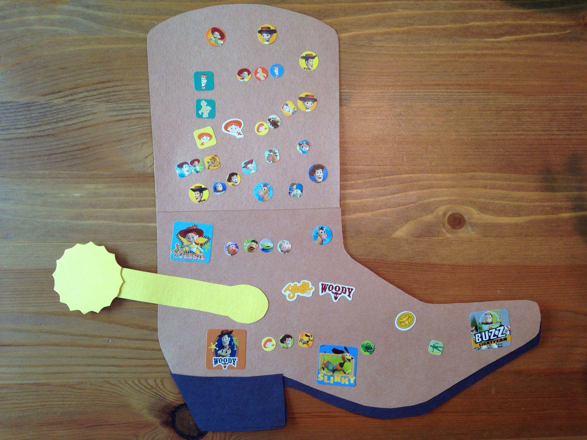 Cowboy Boot Craft Western Craft Preschool Craft Toy Story