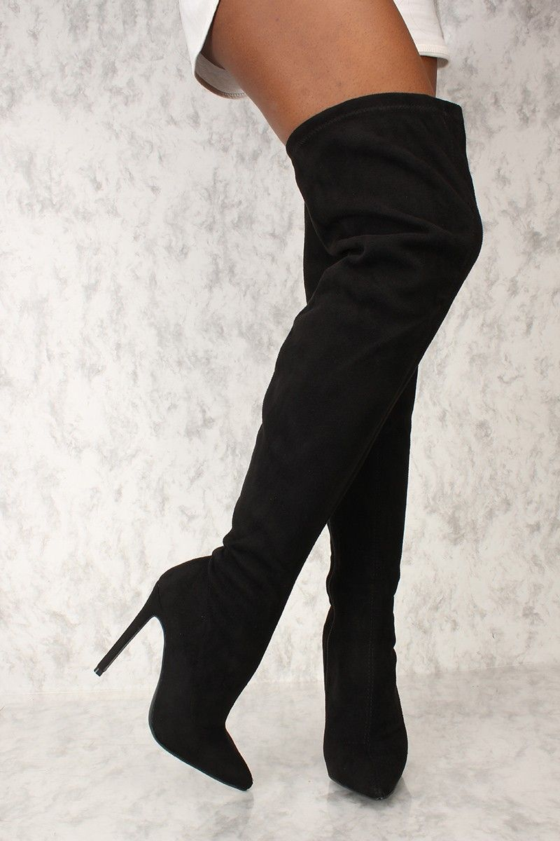 c7281610b0a5 These boots are the perfect go to with a cute outfit for a night out with  the girls! Featuring  faux suede